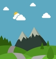 Nature Flat Design vector image