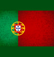 portugal flag background for russian soccer event vector image vector image