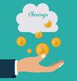 Saving Money design vector image