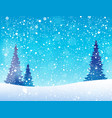 snow theme background 5 vector image vector image