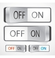 toggle switch vector image