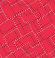 red mosaic seamless pattern vector image