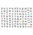 100 hand lettering inscription about autumn sale vector image