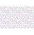 classic baby color background random dots polka vector image