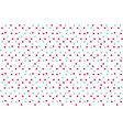 classic bacolor background random dots polka vector image vector image