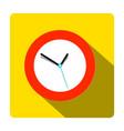 clock icon time symbol vector image vector image