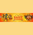 lord rama and ravana in dussehra navratri festival vector image vector image