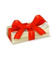 money gift vector image vector image