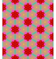 Multicolor geometric pattern in bright color vector image vector image