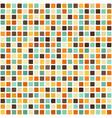 retro square pattern seamless vector image vector image