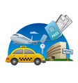 travel service vector image vector image