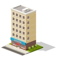 isometric icon representing store or vector image