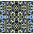 Ornamental ornate tribal style seamless wallpaper vector image