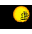 Dark Night vector image vector image