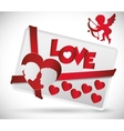 Love icon design vector image