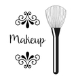 makeup product vector image