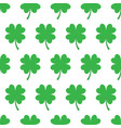 repeating four leaf clover pattern vector image vector image