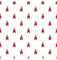 rocket pattern seamless vector image vector image