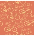 Pattern bike vector image