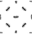 audio digital equalizer technology pattern vector image vector image