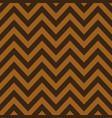 gold and brown chevron retro decorative pattern vector image