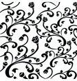Gothic style vintage floral pattern vector image vector image