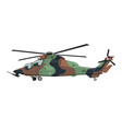 nursery military helicopter drawing army vehicle vector image