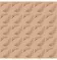 Rosemary kraft pattern vector image