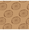 Stump Muzzle Seamless Pattern Background vector image vector image