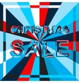 Big ice sale poster with CHRISTMAS SALE text