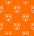 crest pattern seamless vector image