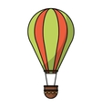 Isolated hot air balloon design vector image vector image