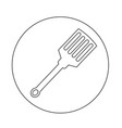kitchen spatula icon vector image