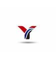 Letter Y logo vector image vector image