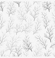 pattern branches vector image vector image