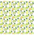 Seamless pear vector image vector image