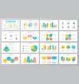 startup and business presentation templates vector image vector image