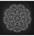vintage circle pattern in victorian style