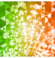 Abstract geometric background and place for text vector image vector image
