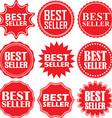 Big sale label set big sale sticker set vector image vector image