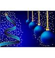 christmas decorations christmas vector image