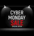 Cyber monday background sale concept