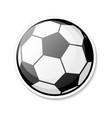 football ball cartoon style sports activity play vector image vector image