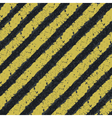hazard yellow lines vector image