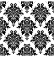 Intricate foliate arabesque seamless pattern vector image vector image