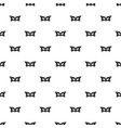 mask pattern seamless vector image vector image