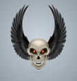 Mutant skull vector image vector image