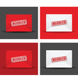 reduced envelope set vector image vector image