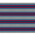 seamless blue horizontal knitting pattern vector image vector image