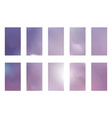 abstract gradient mesh backgrounds purple pink vector image vector image
